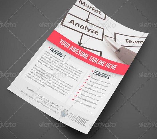 business flyer template 9