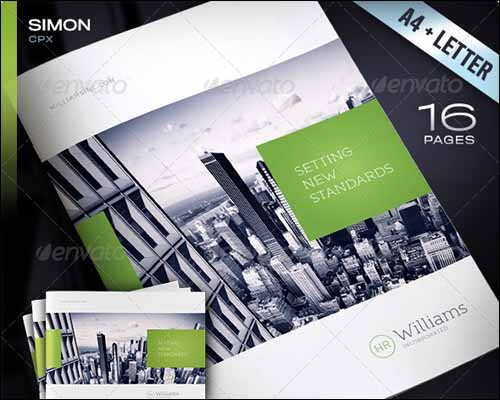 2 Page Brochure Template. creative brochure template or flyer ...