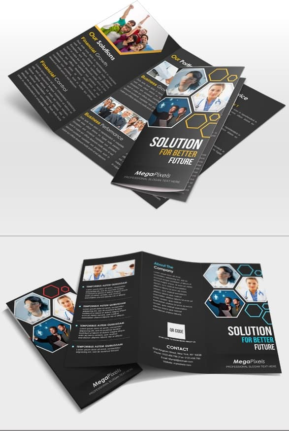 creative brochure design templates - 25 best brochure design templates