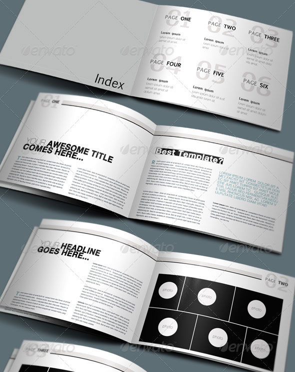 25 best brochure design templates for Booklet brochure template