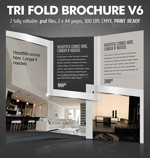 25 best brochure design templates page 2 of 2 for Interior design brochures