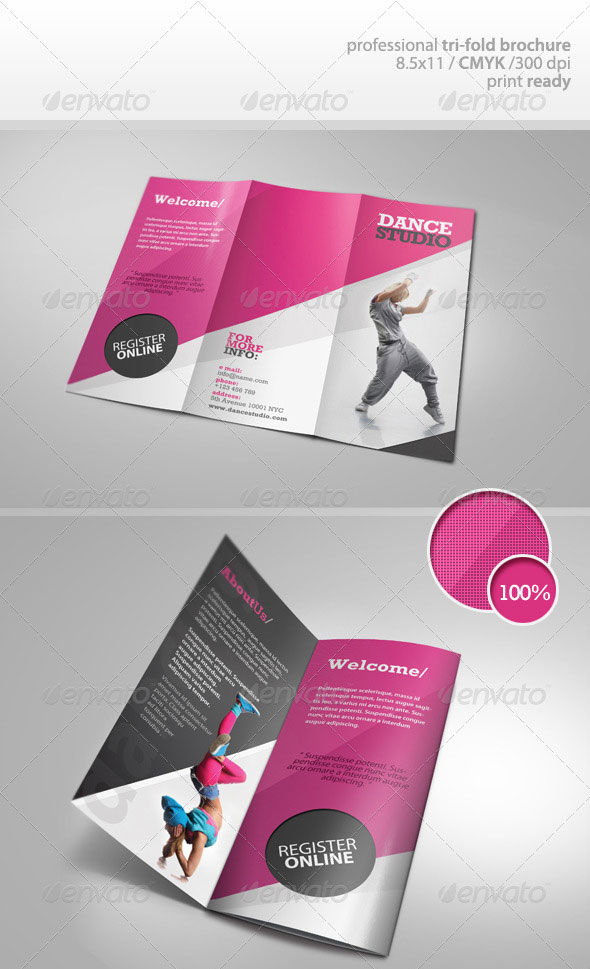 A4 Leaflet Design Inspiration