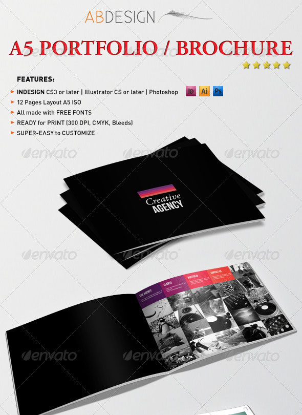 25 best brochure design templates for Pamphlet photoshop template