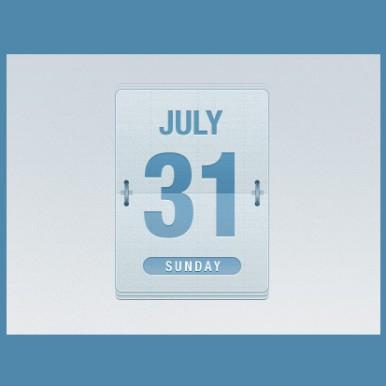 Email-Date-Flipper-Calendar-PSD
