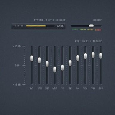 Mini-Music-Player-Interface