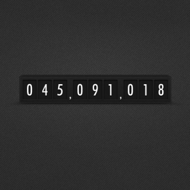 Simple-Dark-Minimalistic-Countdown-Timer