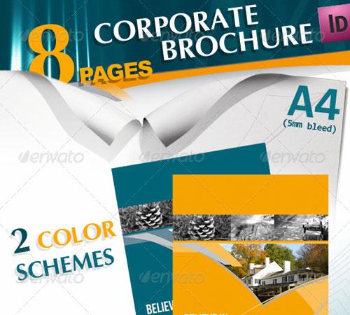 45 Creative Premium Brochure Template Designs 56pixels
