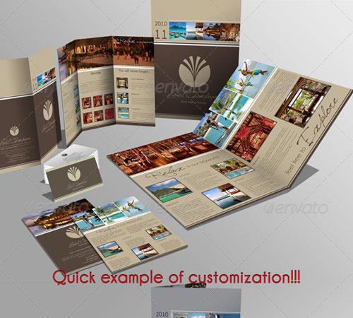 Creative Premium Brochure Template Designs Pixelscom - A4 tri fold brochure template