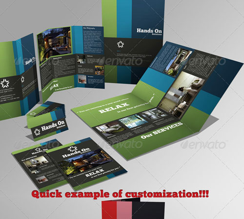 Brochures Pack Set