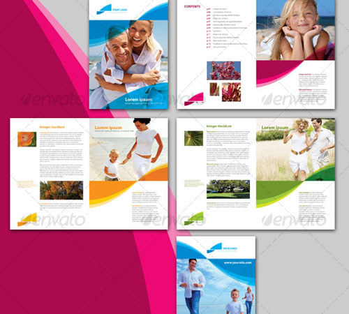 45 creative premium brochure template designs for Modern brochure design templates