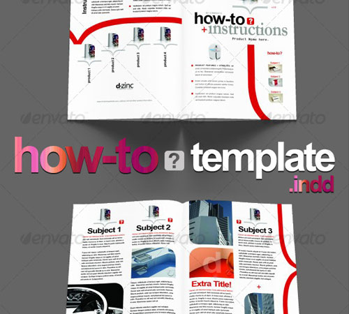 instruction leaflet template - 45 creative premium brochure template designs