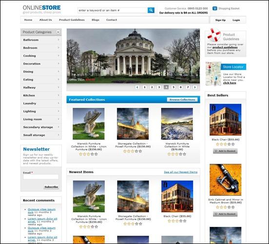 60 Excellent Drupal Free and Premium Themes | 56pixels.com