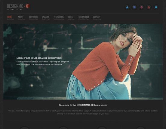 Nice responsive Drupal 7 theme