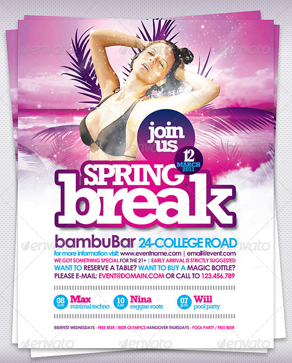 Best Flyer Templates  PixelsCom