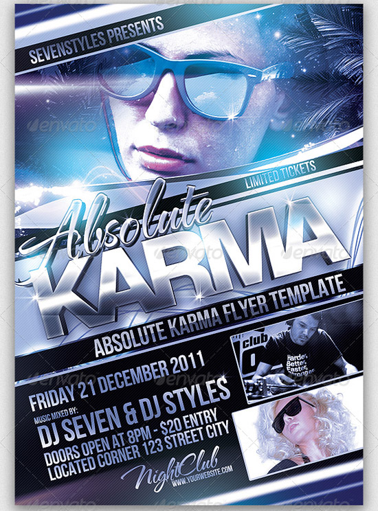 Karma Flyer Template