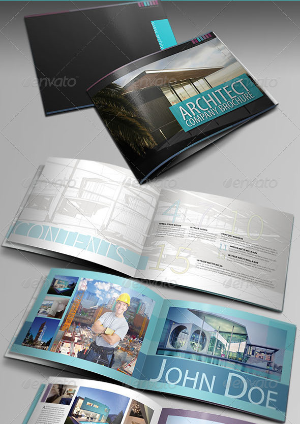 Architecture Brochure Template Ver.III