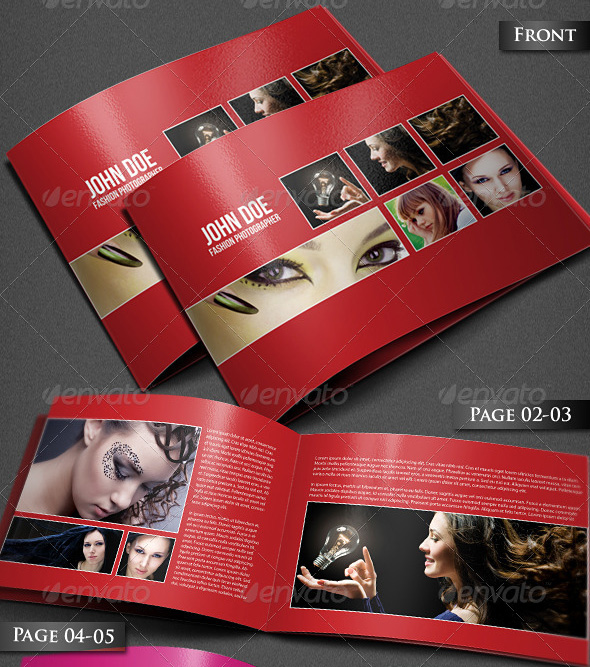 Photography Portfolio A4 Brochure