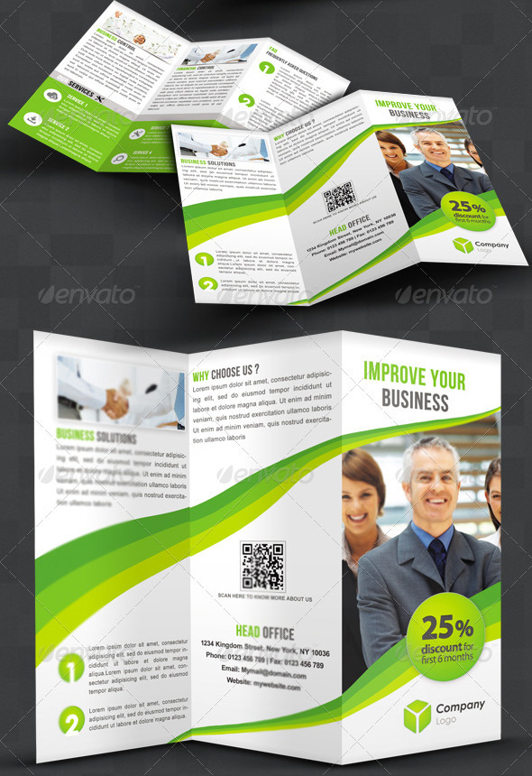 awesome tri fold brochure design 25 best brochure design templates