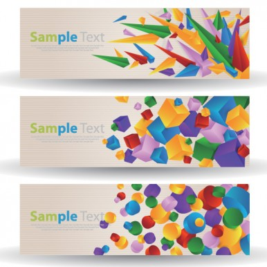 3-Colorful-Cube-Circle-Abstract-Banners