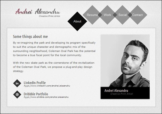 50 best vcard template for online resumes 56pixels shuffle is a virtual business card template simple and easy to customize implemented using the latest standards powered by jquery brings nice flash like accmission Choice Image