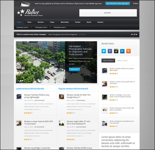 ratius-responsive-review-magazine-theme