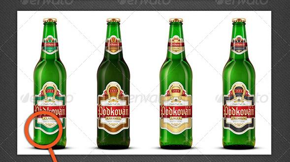 Beer Bottle Mock-Ups