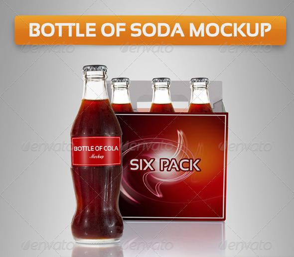 Bottle Cola Mockup