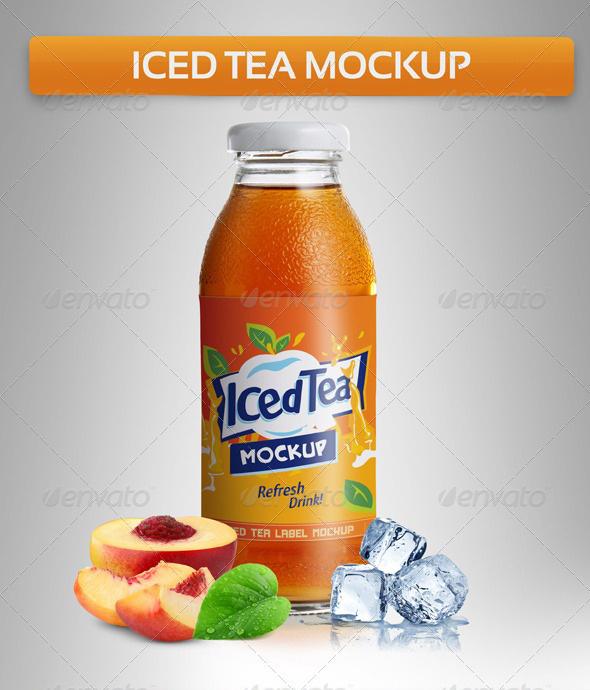 Iced Tea Mockup