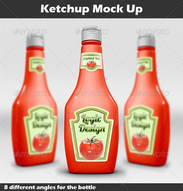 Ketchup Mock Up