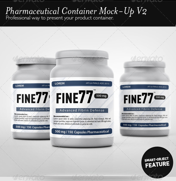 Pharmaceutical Container Mock-Up V2