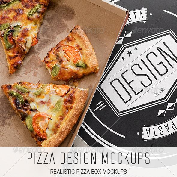 Pizza Design Mockups