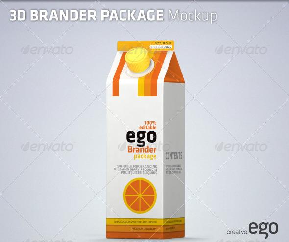 Product Brander Mock-up