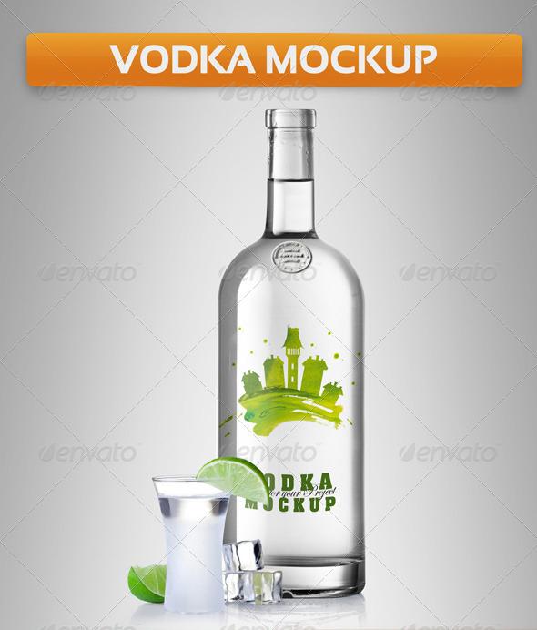 Vodka Mockup
