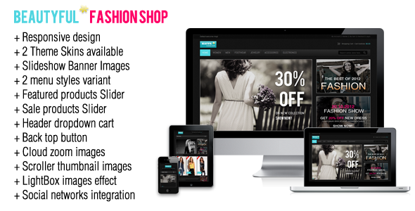 Responsive - Fashion Magento Theme