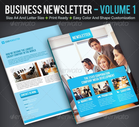 business newsletter volume 1
