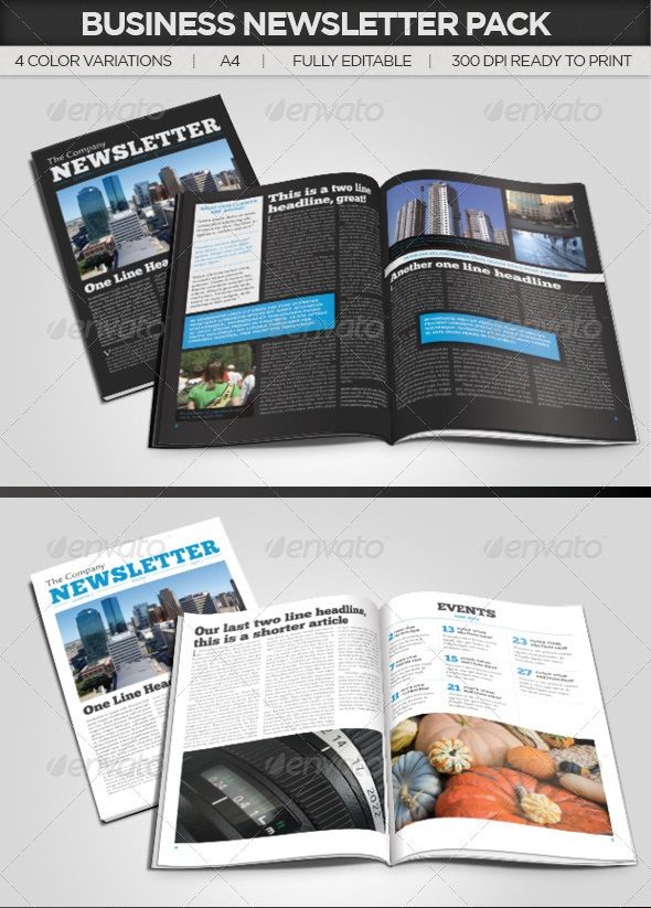 Best Newsletter Design For Print  PixelsCom