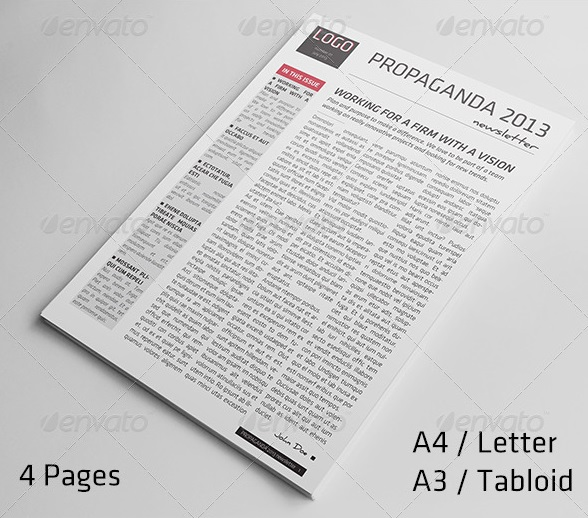 4-pages-newsletter-template  Page Newsletter Templates on 20 page newsletter template, 4 page program template, 4 on a page template, 4 page newspaper template, 1 page newsletter template, 3 page newsletter template, 12 page newsletter template, 4 page brochure, 4 page booklet template, 4 page menu template, 4 page book template, 4 page flyer template, 4 page logo, 4 page poster template,