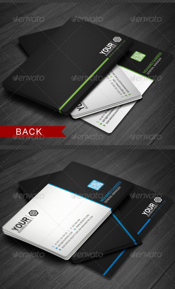 Awesome business card designs 56pixels creative corporate business card 7 reheart Choice Image