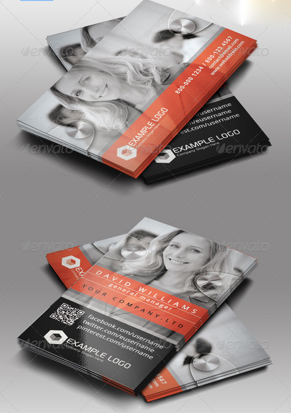 Awesome business card designs 56pixels multipurpose business card vol6 reheart Choice Image