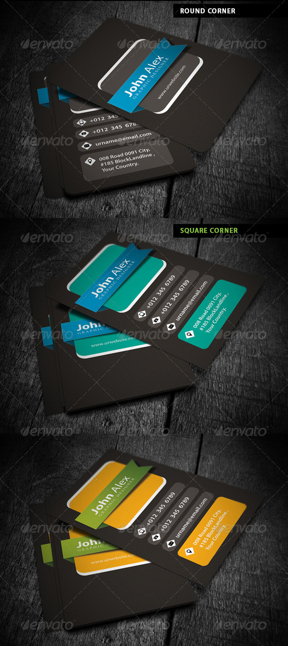 Awesome business card designs 56pixels personal business card reheart Choice Image