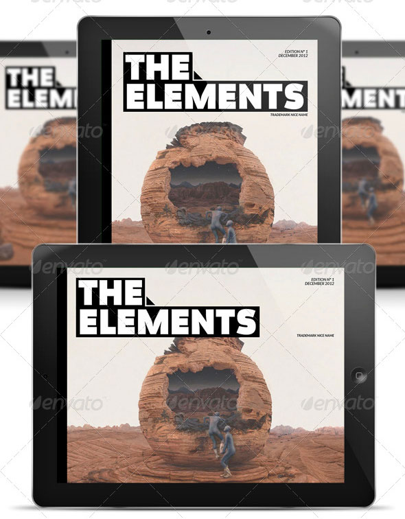element mgz template ipad