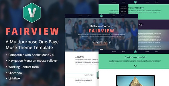 Free and Premium Responsive Adobe Muse Templates | 56pixels com