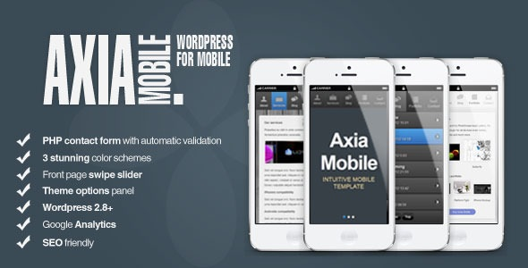 AxiaMobile - Corporate Mobile | WordPress & HTML5
