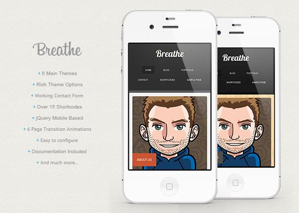 Breathe - WordPress