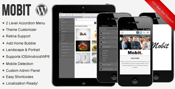 Mobit Premium WordPress Mobile Theme