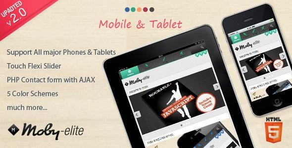Moby Elite - WordPress Mobile Theme