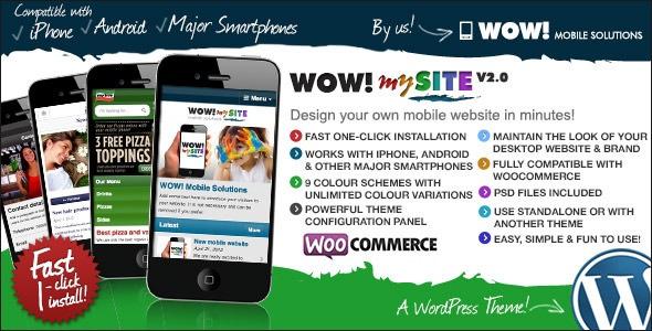 WOW! mySite WordPress Mobile Theme
