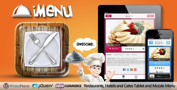 iMenu - Restaurant Tablet and Mobile Retina Menu
