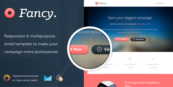 FancyMail Responsive Email Template