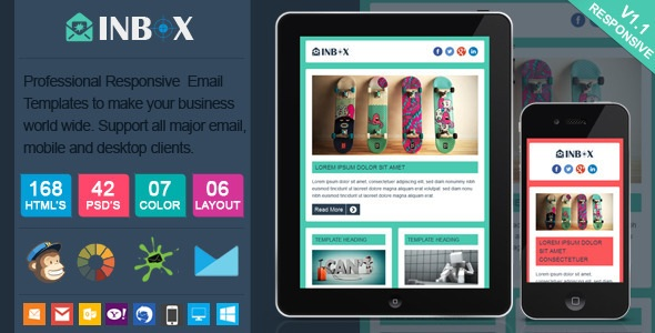 Inbox - Responsive Email Template